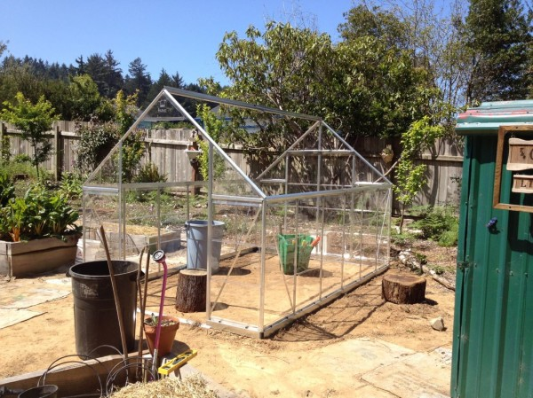 Roof framing complete