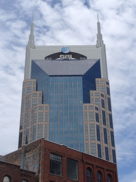 The AT&T Building in downtown Nashville