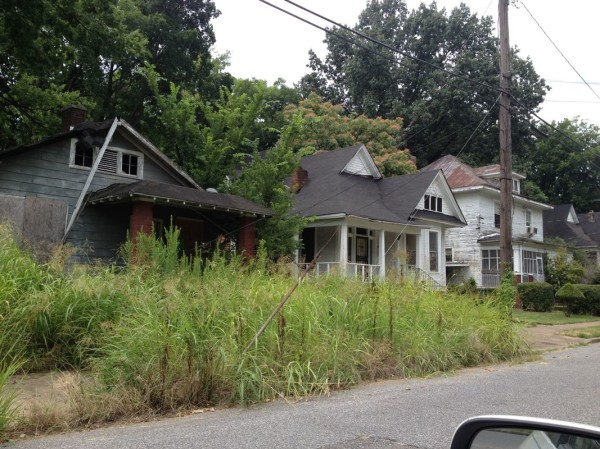 Tough times for these Memphis homes