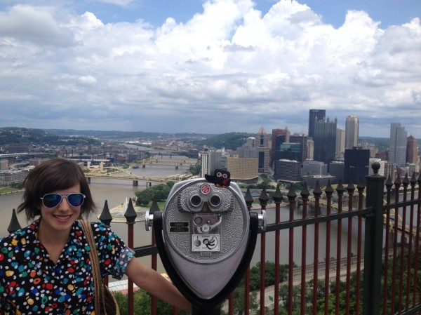 Anna with Archimedes and Pittsburgh