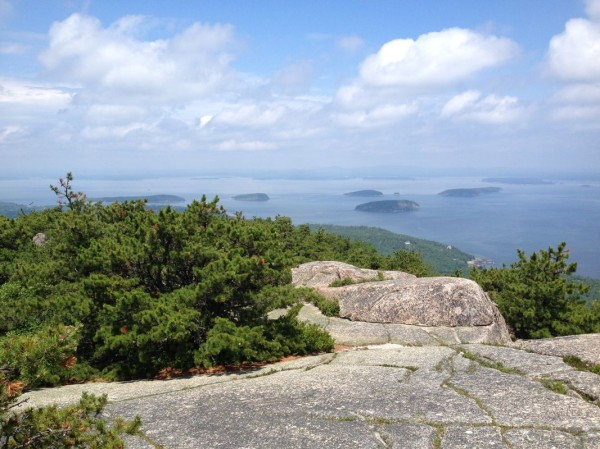 View from summit of Mt. Champlain